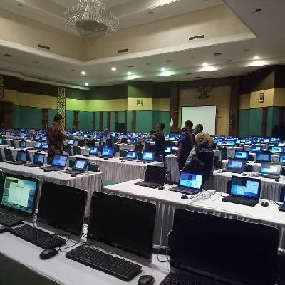 Rental Notebook dan Multimedia Test CPNS Bogor