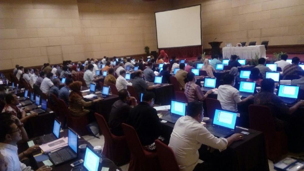 Rental laptop untuk ujian LKPP